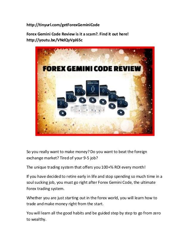 Forex gemini code reviews