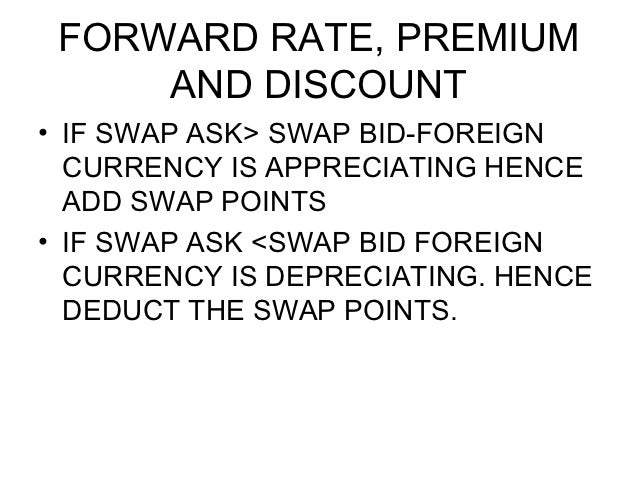 Forex forward deal