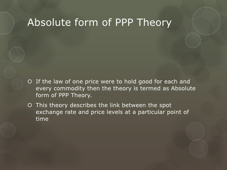 Forex ppp
