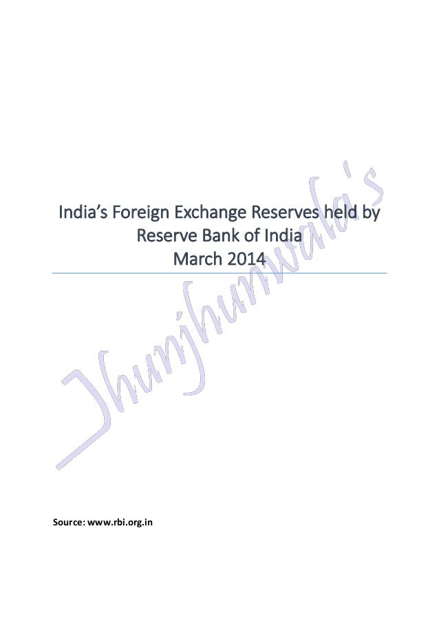 Indian forex reserves