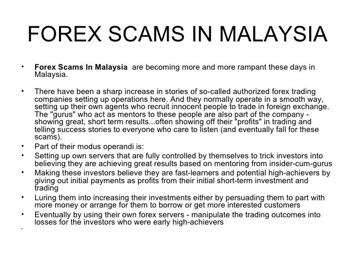 Forex frauds in india