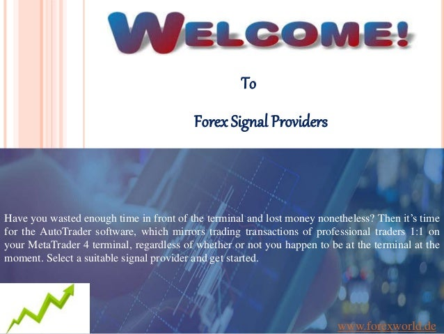Top forex signals providers