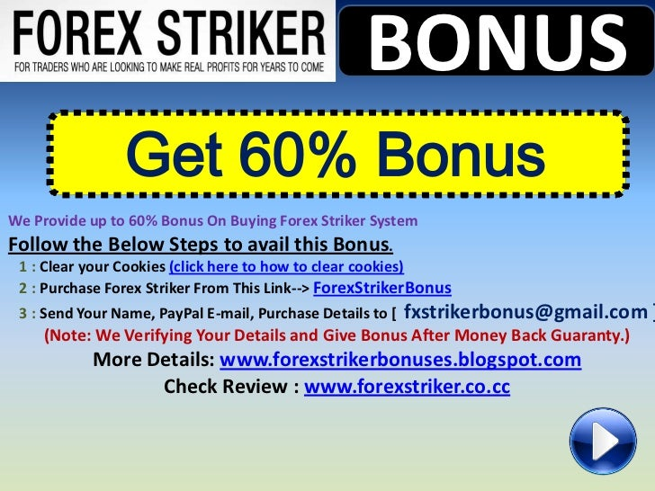 Forex striker discount