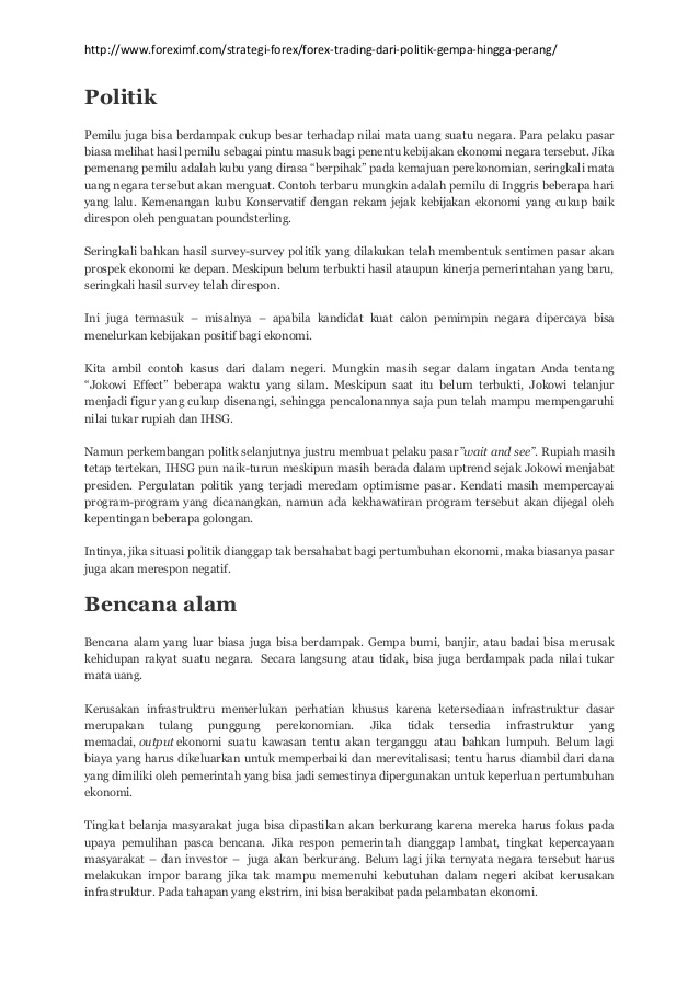 Belajar Trading FOREX part 2 Strategi Dasar FOREX | BisnisAbiz