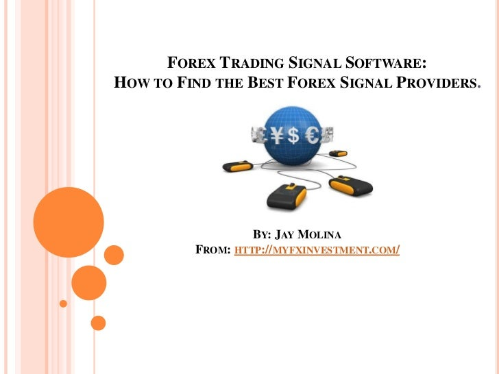 Best forex signal software