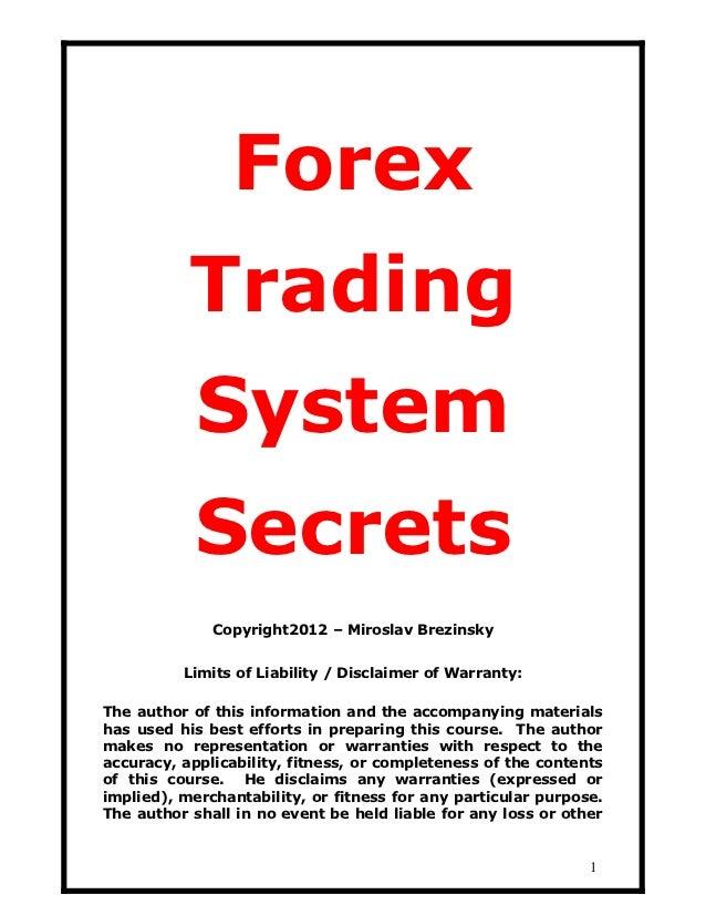 Trading system per principianti
