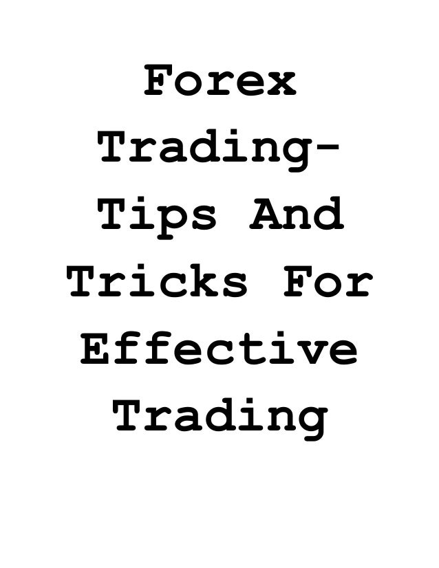 Forex trading tips of the day
