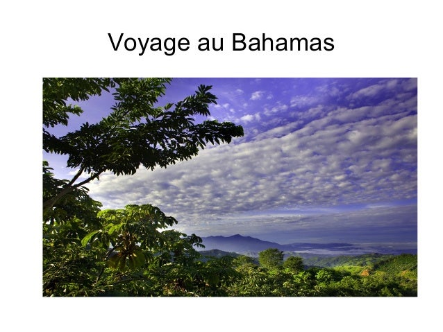 Voyage au Bahamas