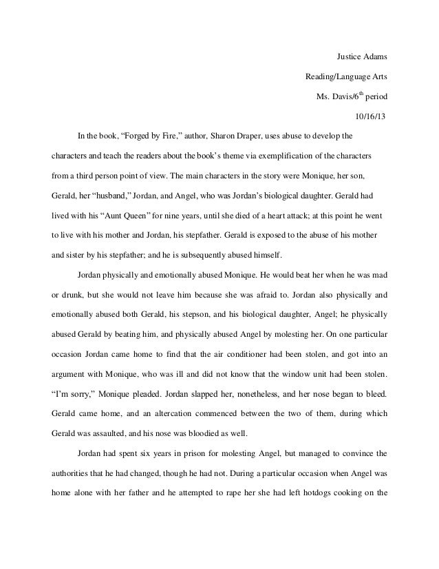 Essay about forged by fire