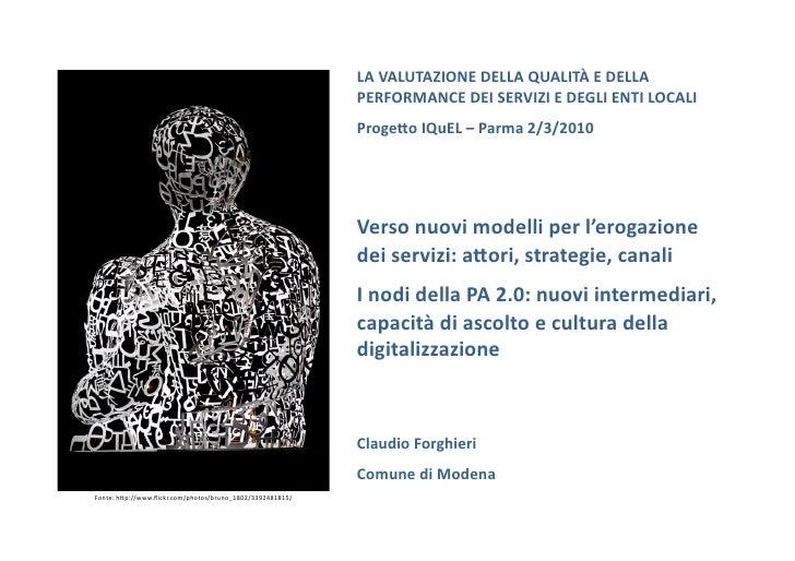 Forghieri Parma Convegno I Qu El 2 3 2010