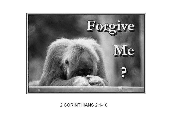 2 CORINTHIANS 2:1-10