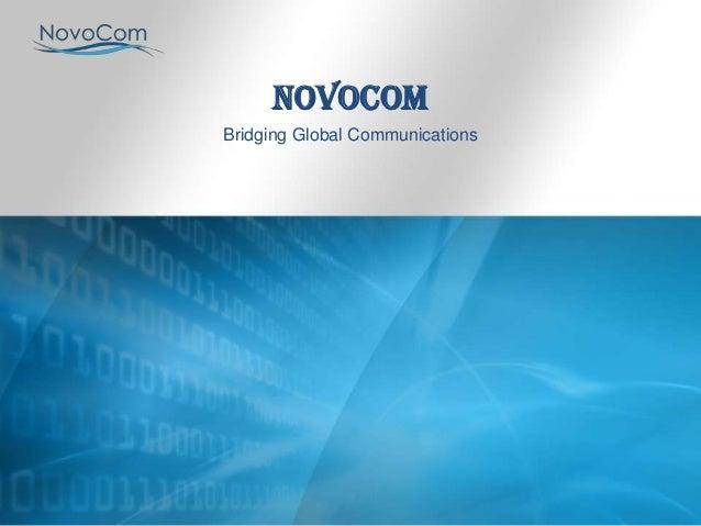 NovoCom Bridging Global Communications