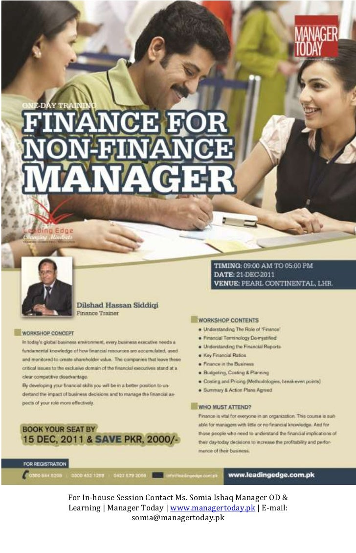 Finance For Non-Fianance Managers
