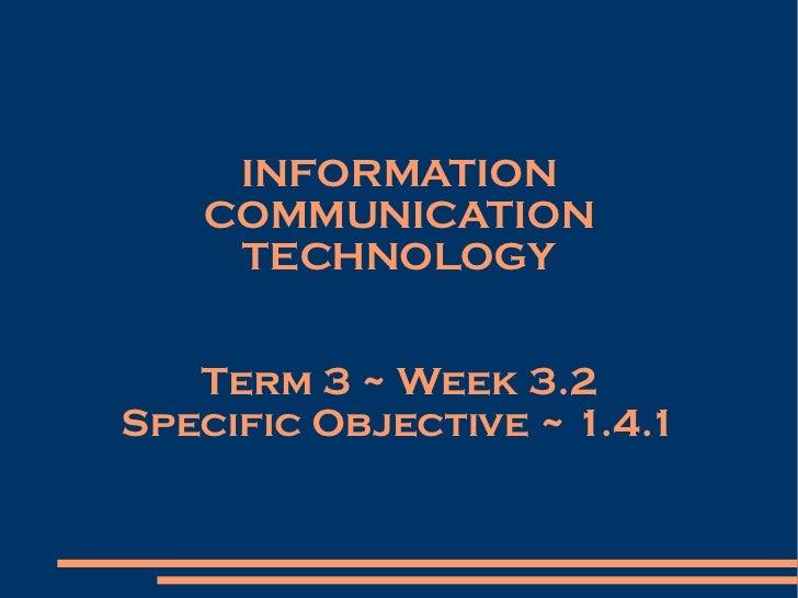 Form 1   Term 3   Week 3.2