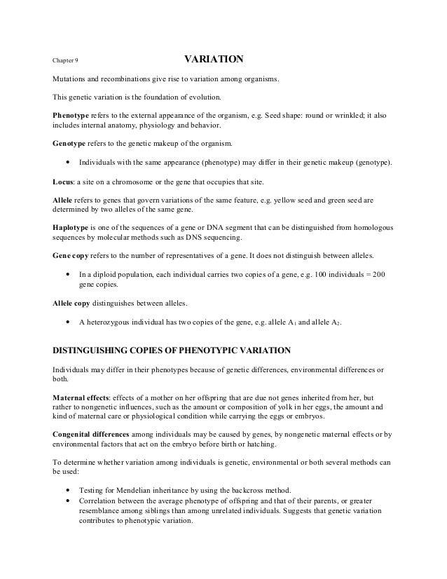 Form 5 chapter 9-variation