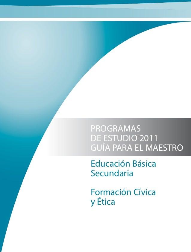 Formación cívica 2011