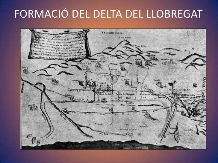 FORMACIÓ DEL DELTA DEL LLOBREGAT<br />