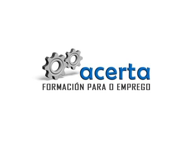 FORMACIÓN 2014 Oferta