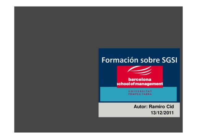 Autor: Ramiro Cid 13/12/2011