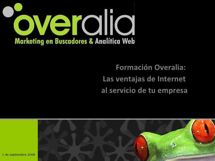 Formación Overalia