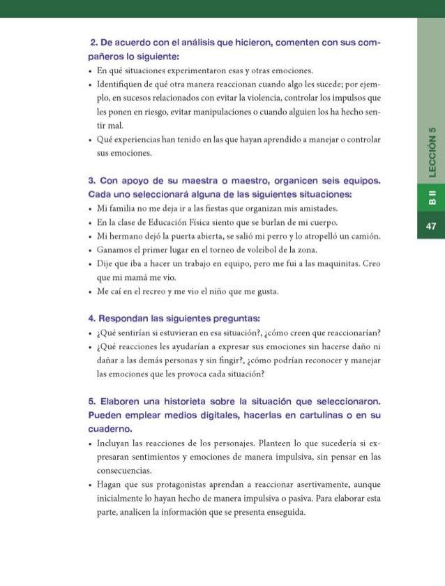 Libro de texto formacion civica y etica 6to grado primaria 2014