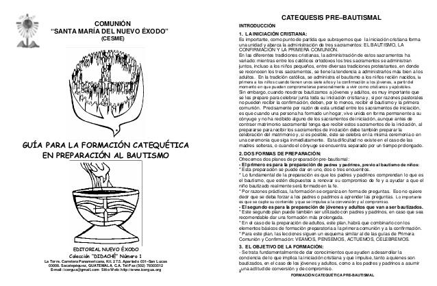 Formacion catequetica-