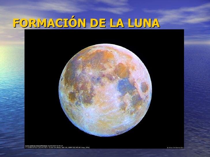 Formacion De La Luna