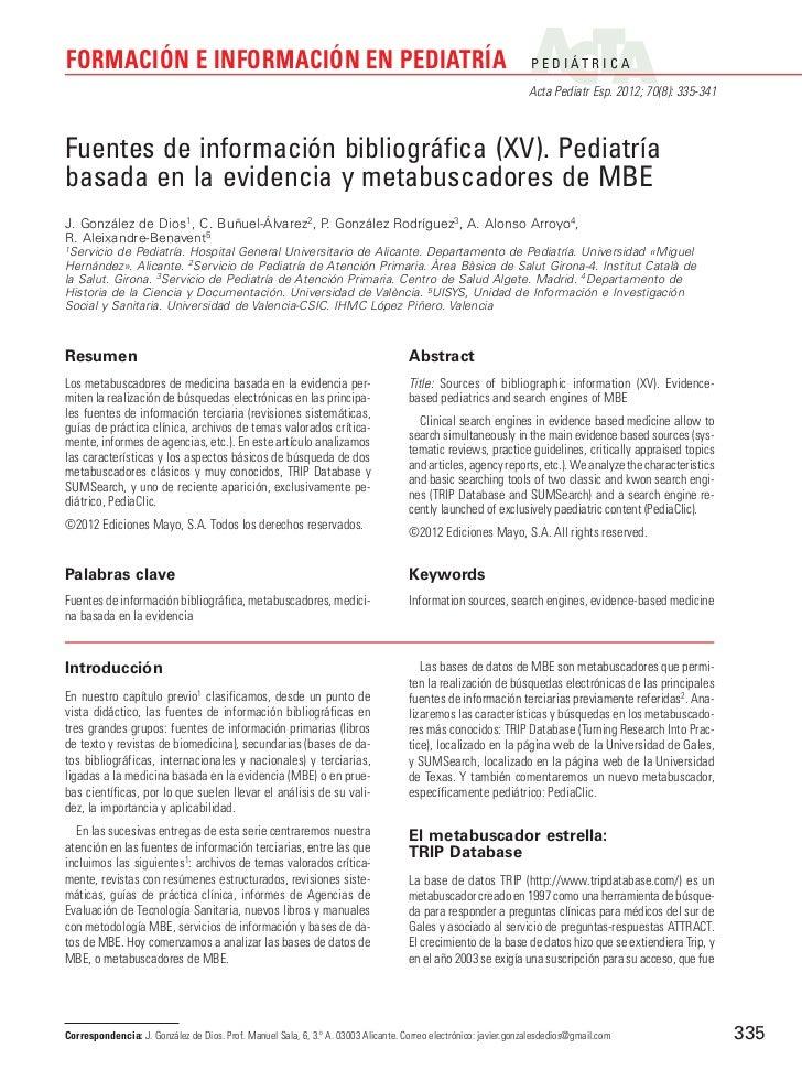 Formacion e informacion (xv) metabuscadores de mbe
