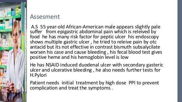 Formal Case 5 Problems Duodenal Ulcer Hypertension