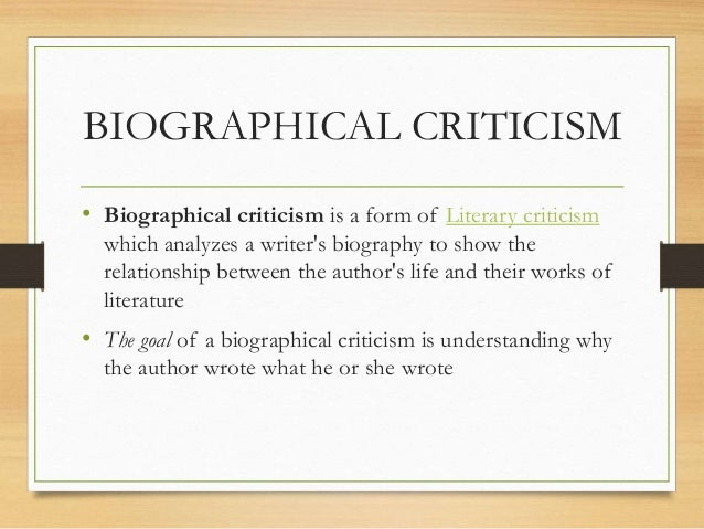 how to write a historical criticism essay