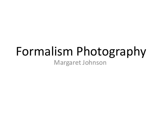 Formalism photography