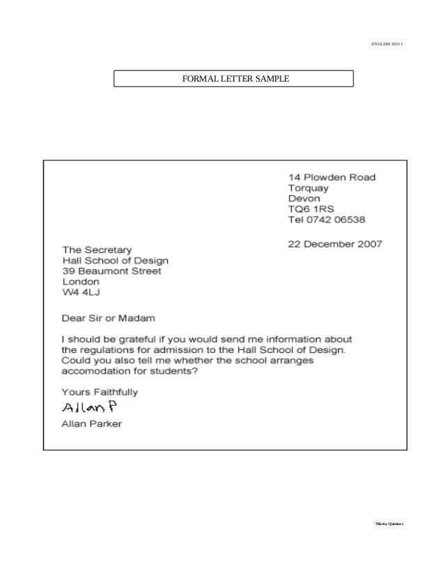 image result for ejemplo de cover letter - Ejemplo De Cover Letter