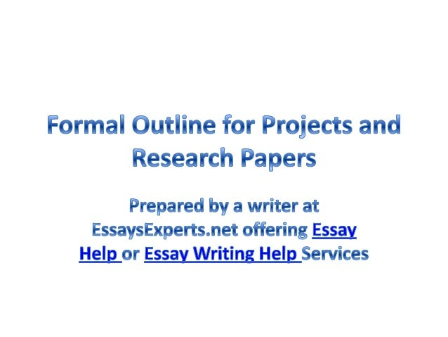 Research papers help