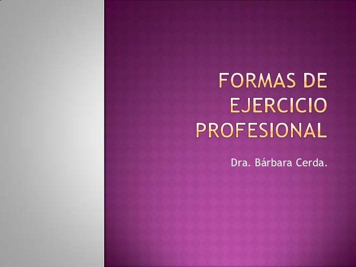 Dra. Bárbara Cerda.