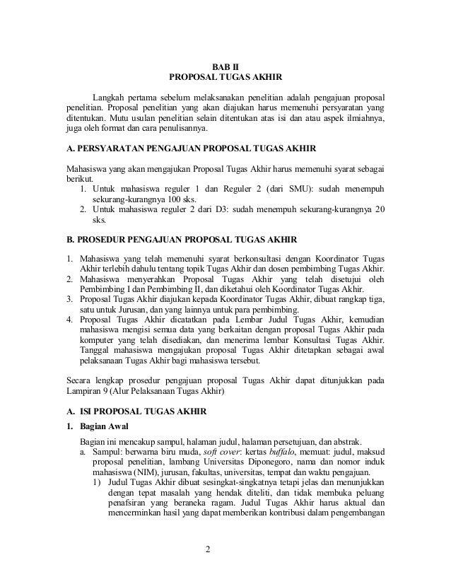 Format proposal