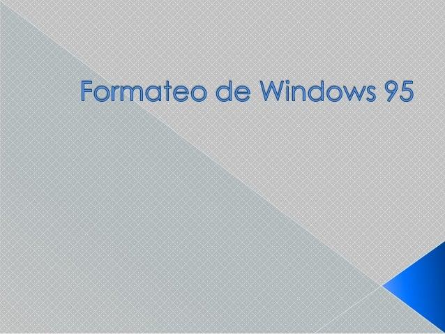     Reinicie el equipo. Cuando aparezca el cuadro de diálogo Iniciando Windows 95, presione F8 y, a continuación, elija ...