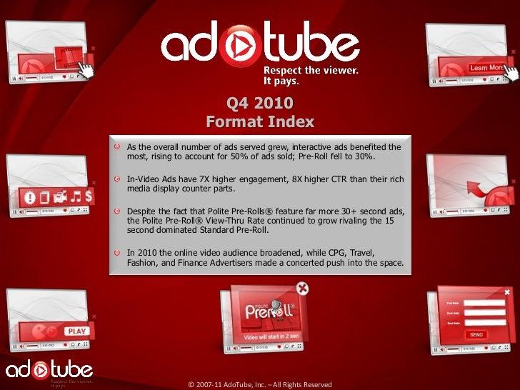 Format Index Q4 2010