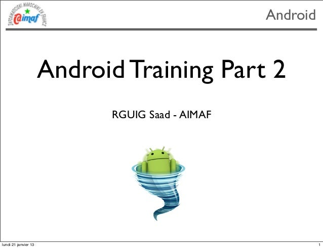 Formation aimaf-android-part2