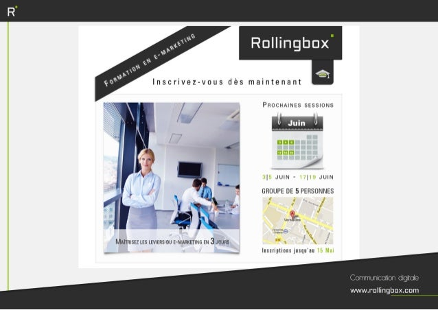 Formation E-marketing - E-Commerce - E-réputation