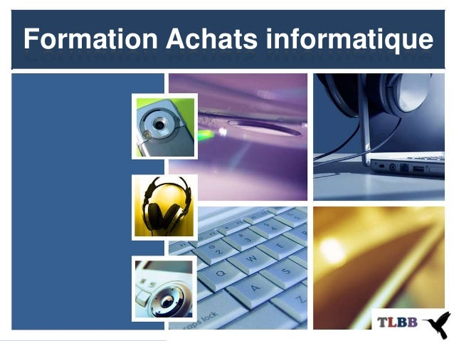 Formation Achats informatique