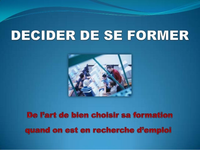 Formation competences
