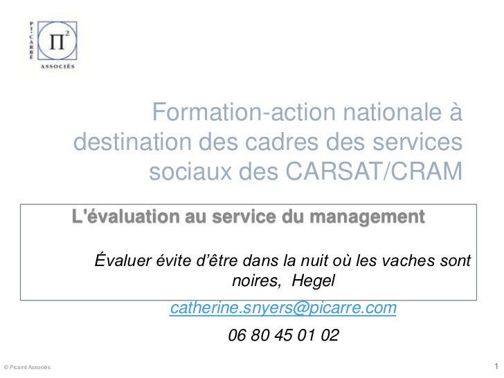 Formation-action nationale à                     destination des cadres des services                            sociaux de...