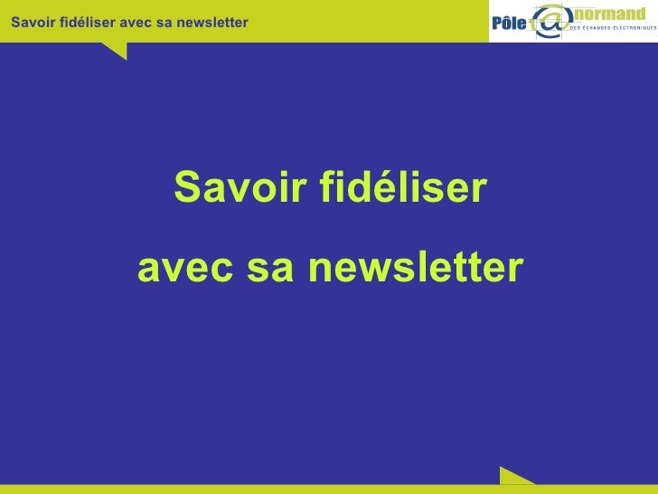 Formation Newsletter   Pn2 E