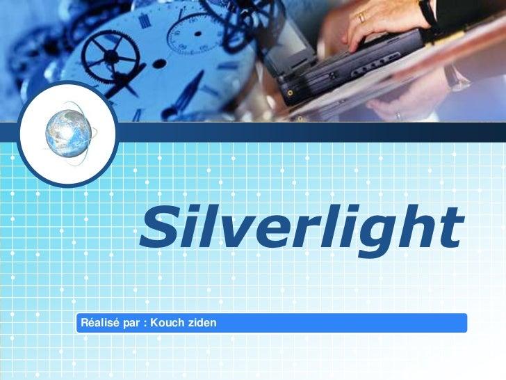 Présentation Silverlight