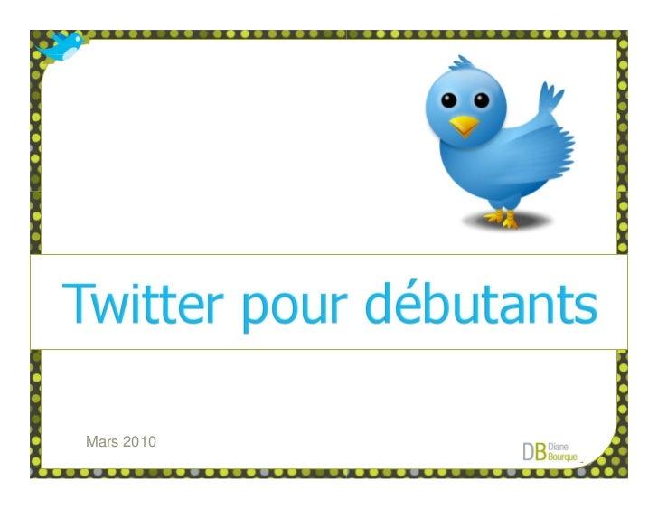 Twitter Pour Débutants