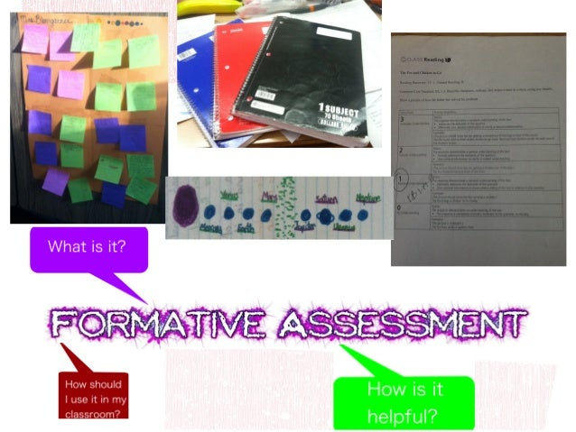 """all those activities undertakenBlack & William describe Formative Assessment asby teachers, and by their students in asse..."