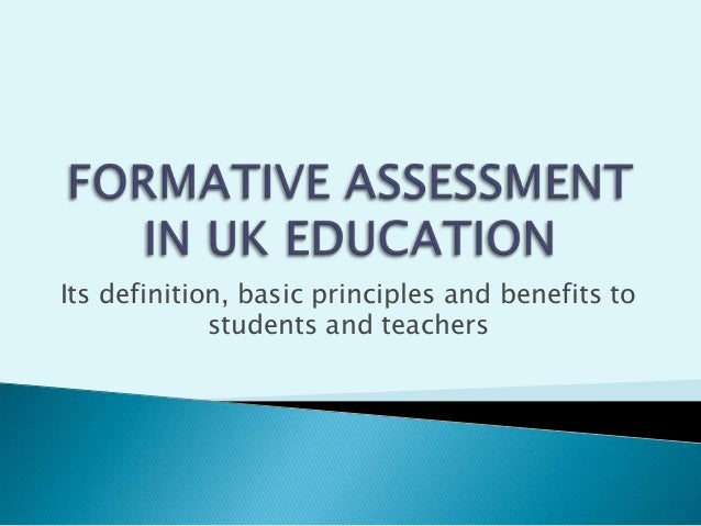 Its definition, basic principles and benefits to students and teachers