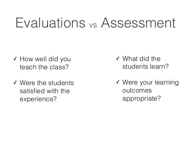 Assessment strategies you use?