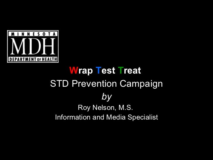 Wrap Test Treat - STD Prevention Campaign