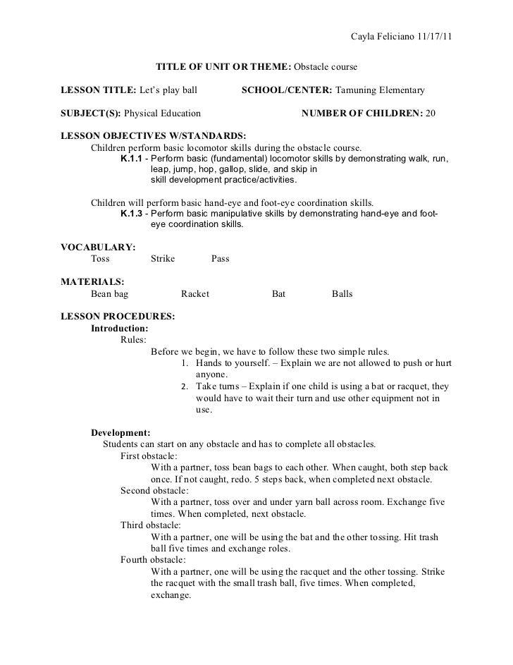 Format lesson plan ed330